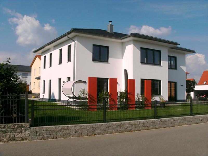 Einfamilienhaus mit Erker Altegolfsheim