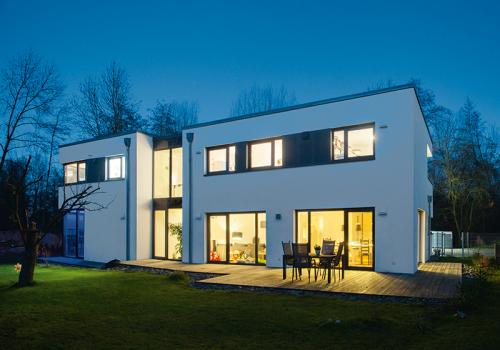 Wohnhaus mit Flachdach Straubing