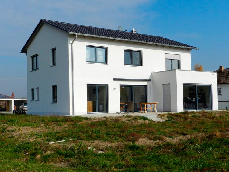 Wohnhaus Flachdachanbau Parkstetten