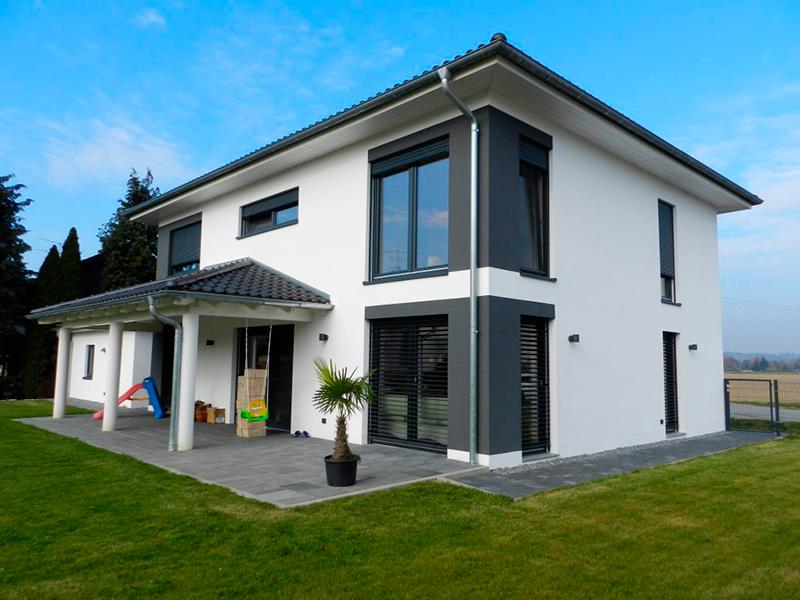 modernes Wohnhaus Parkstetten