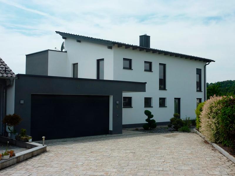 Wohnhaus Flachdachanbau Hunderdorf