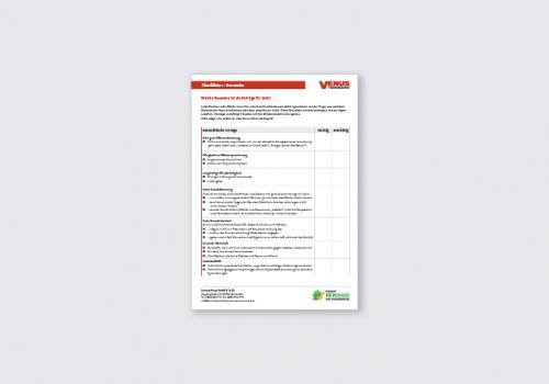 Titelbild Checkliste Bauweise
