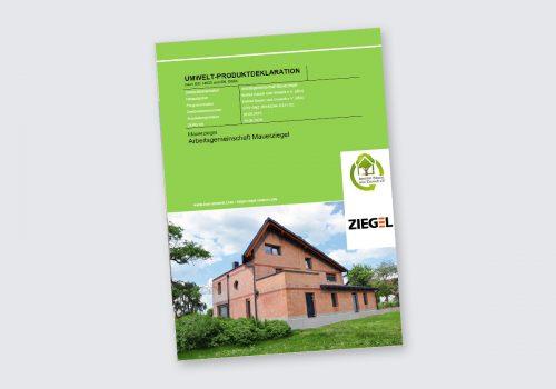 Titelbild EDP Umweltkdeklaration