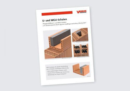 Titelbild Flyer U- und WGU-Schalen