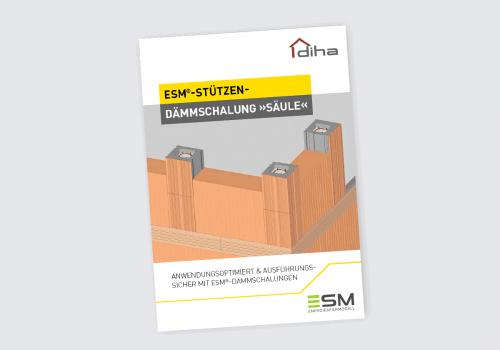 """ESM-Stützen-Dämmschalung """"Säule"""" Prospekt"""