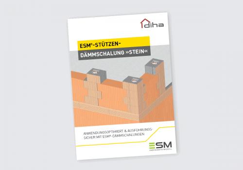 """ESM-Stützen-Dämmschalung """"Stein"""" Prospekt"""